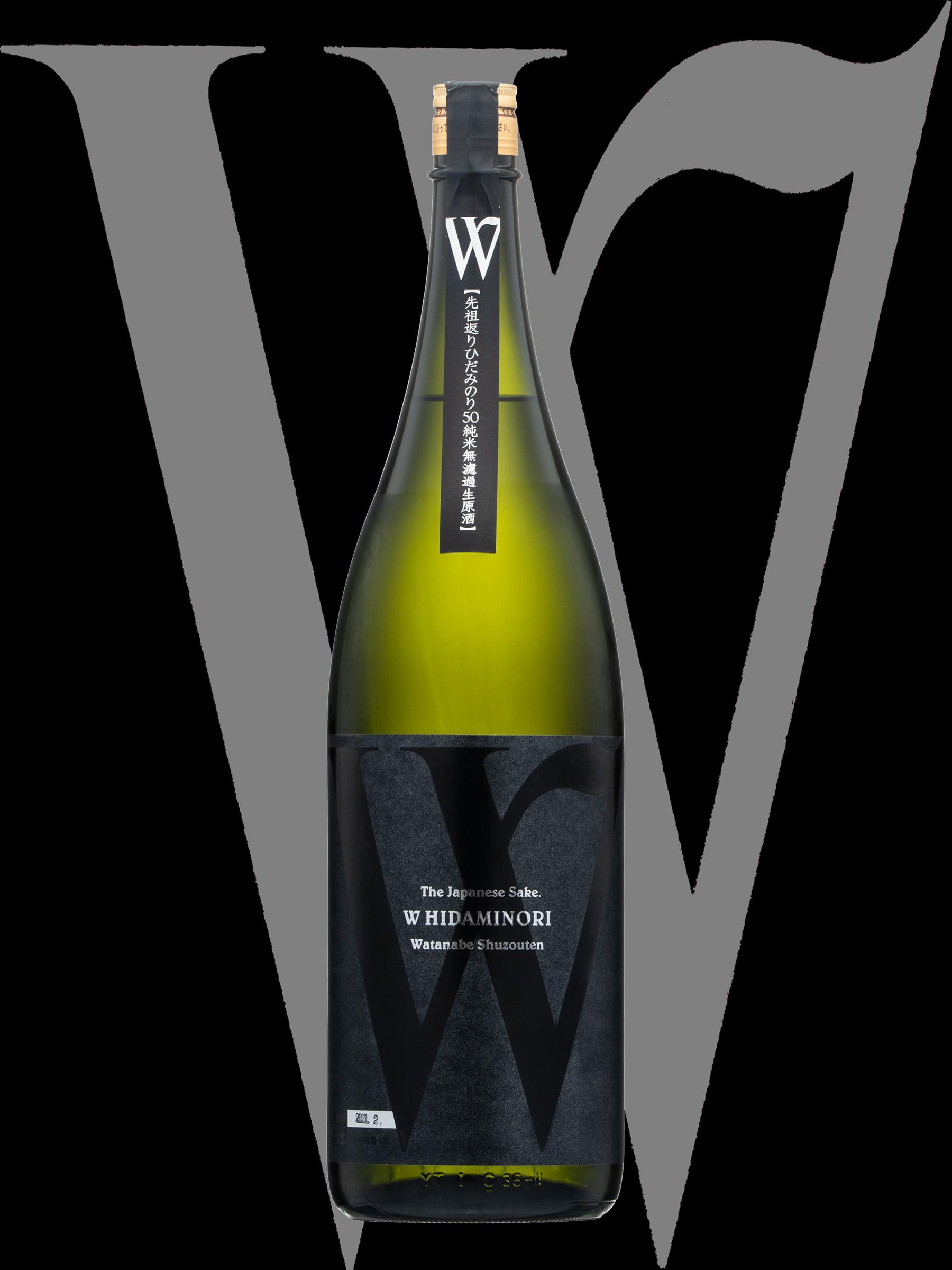 W(ダブリュー)「純米大吟醸」先祖返りひだみのり50無濾過生原酒